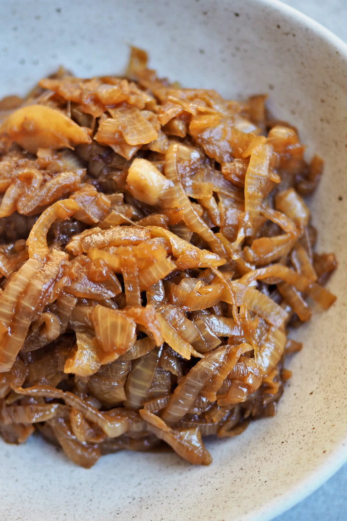 beer caramelised brown onions