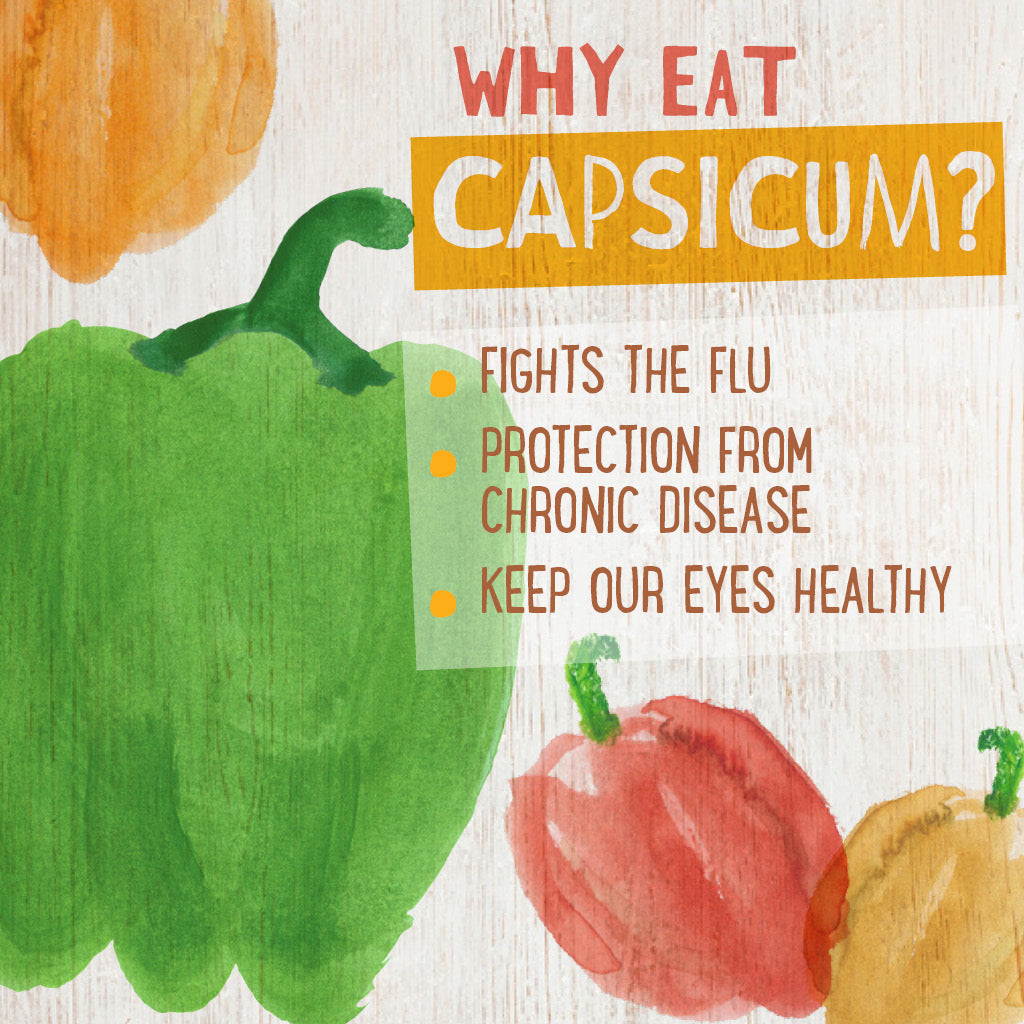 Why Eat Capsicum