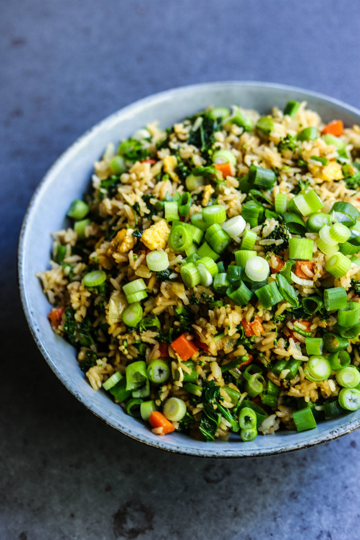 Fried Rice with Kale and Broccolini | Broccolini Recipes