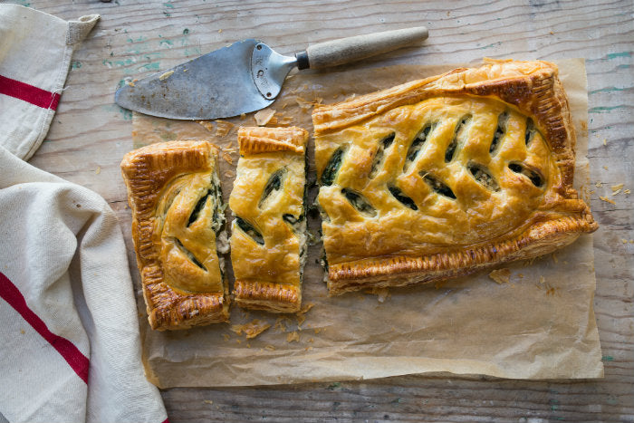 chicken and spinach pie recipe