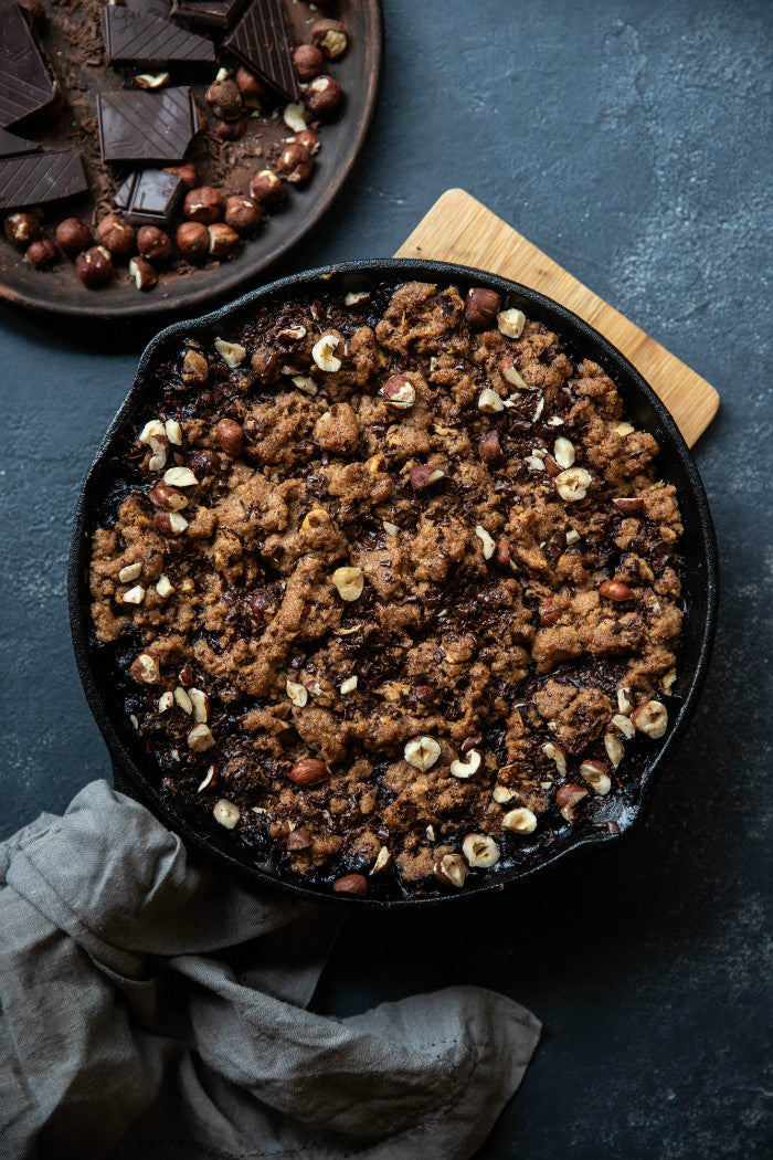 chocolate crumble recipes
