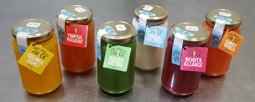 cold pressed juices from harris farm