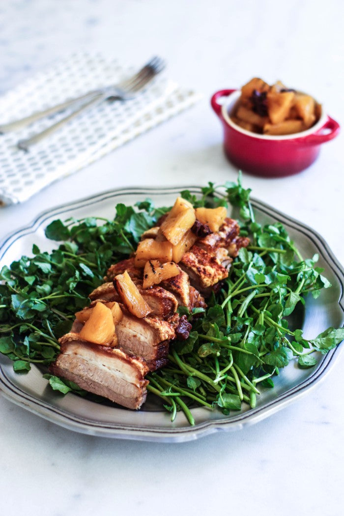 crispy pork belly recipe
