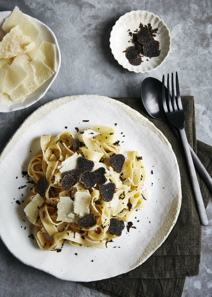 fresh black truffle recipe
