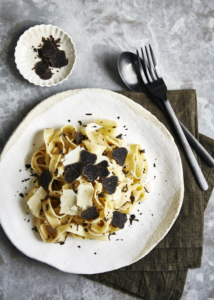 fresh black truffle pasta recipe
