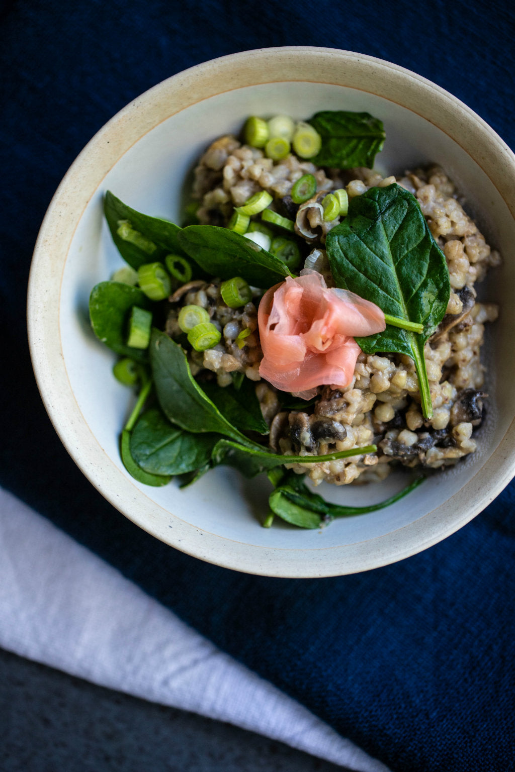 guide to grains - buckwheat groats with miso