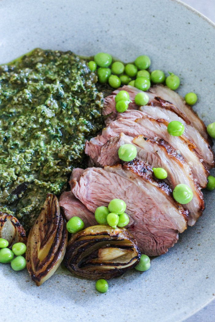 lamb rump recipe