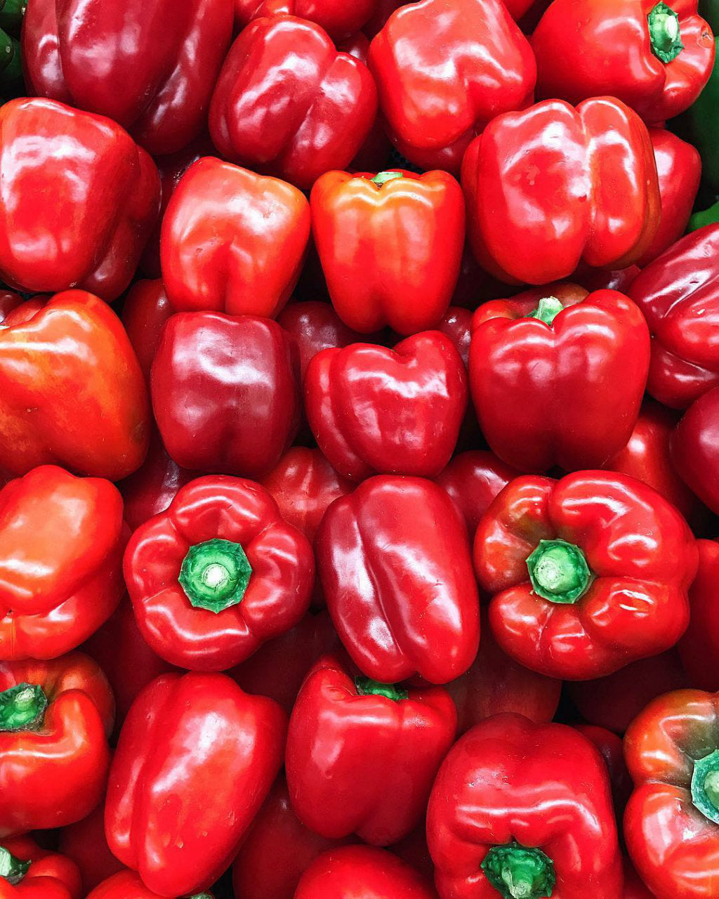 pick of the week - red capsicums