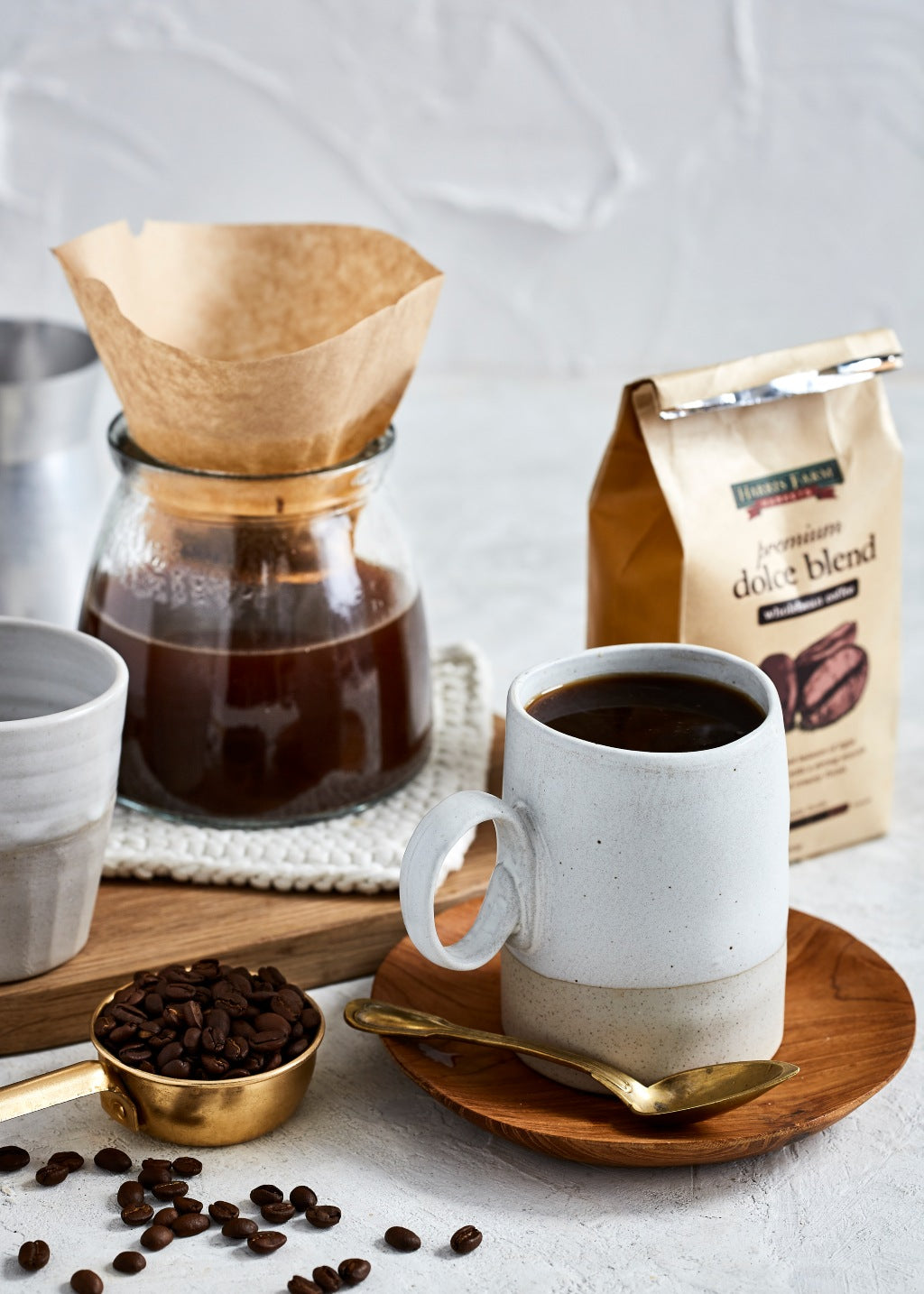 pour over different types of coffee