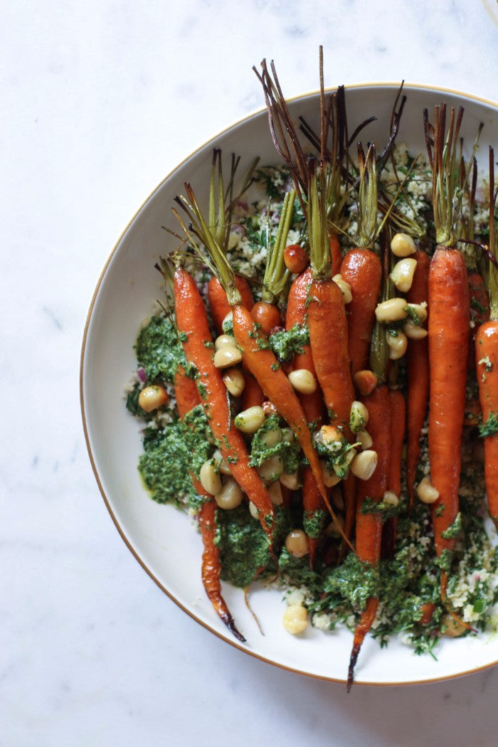 roasted dutch carrots recipe