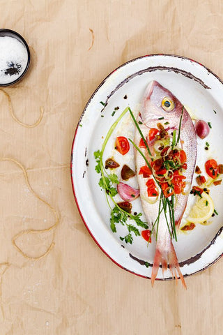 Spanish inspired fish from La Tartine Gourmande