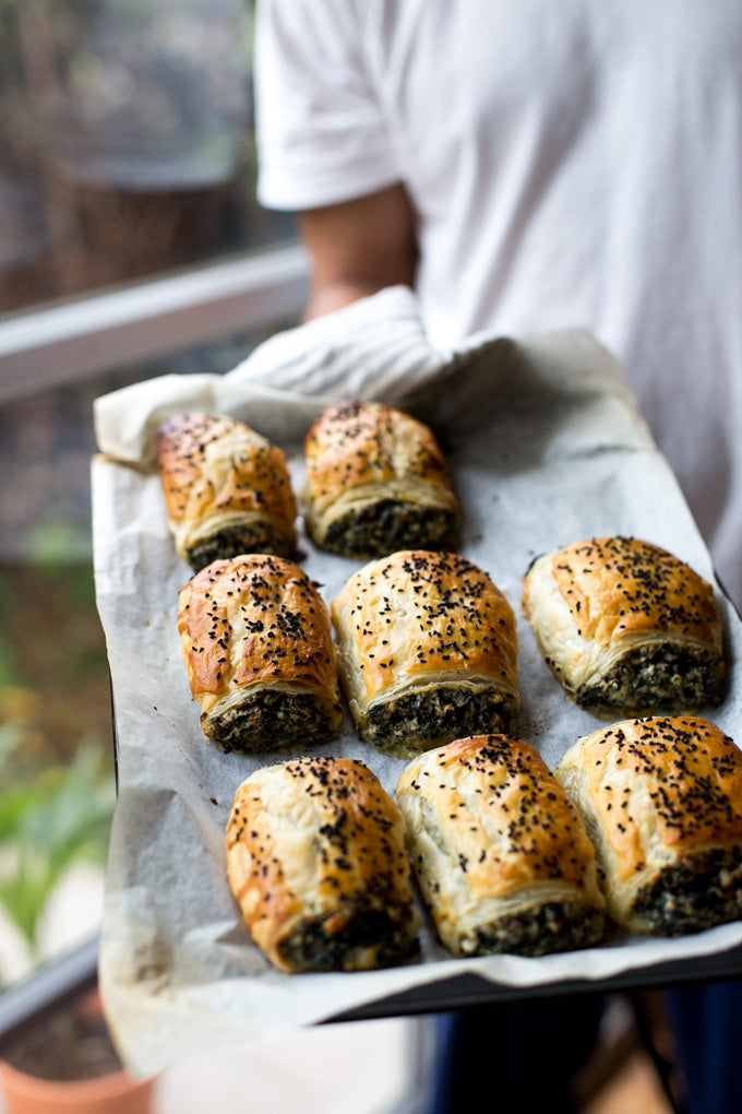 spinach cheese rolls recipe