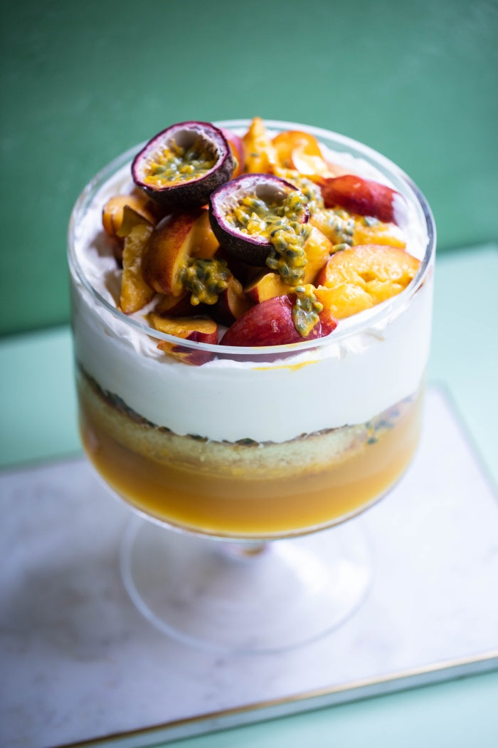 stonefruit trifle recipe