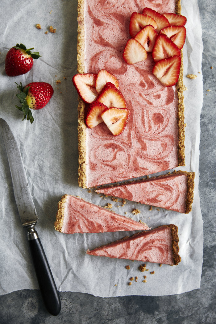 dairy free strawberry tart recipe