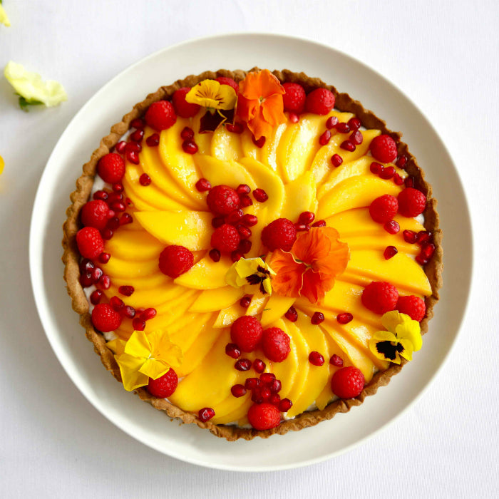 Summer Tart with Mango - Brown Paper Nutrition