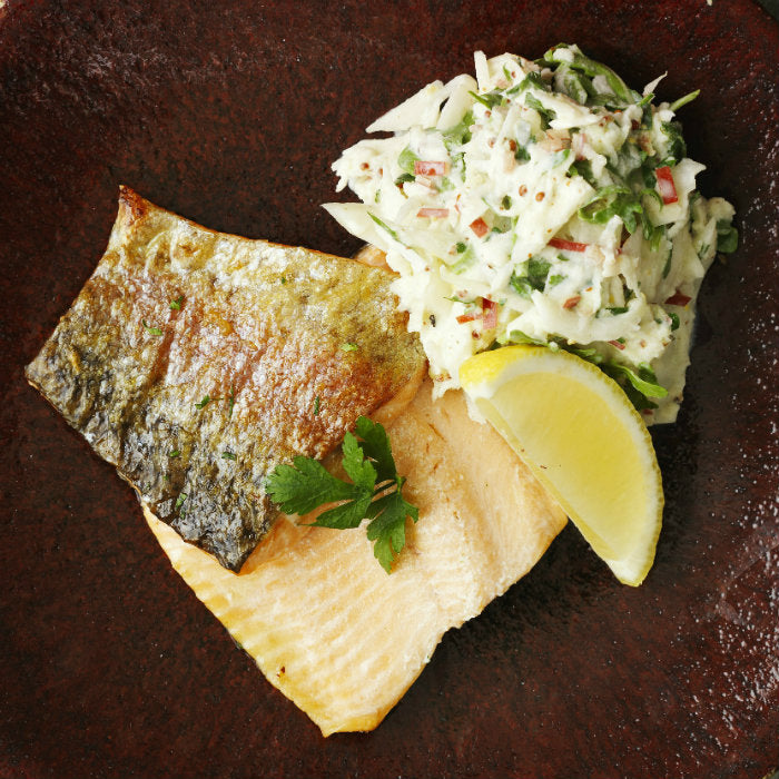 trout with kanzi apple and fennel recipe