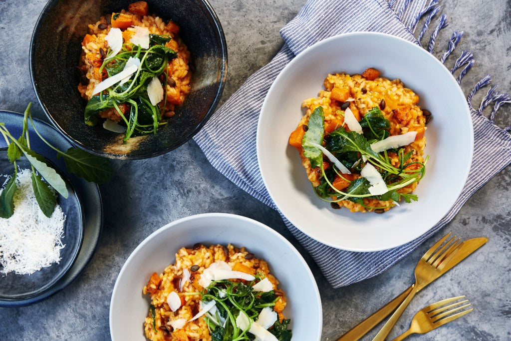 vegetarian risotto online meal box harris farm