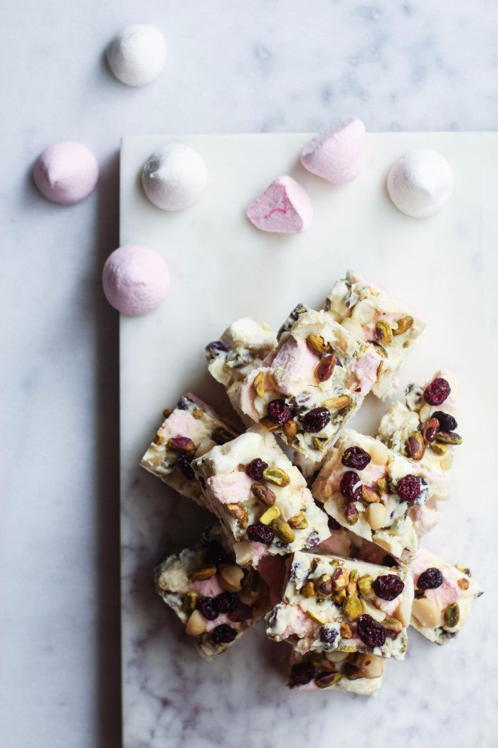 white chocolate rocky road recipe