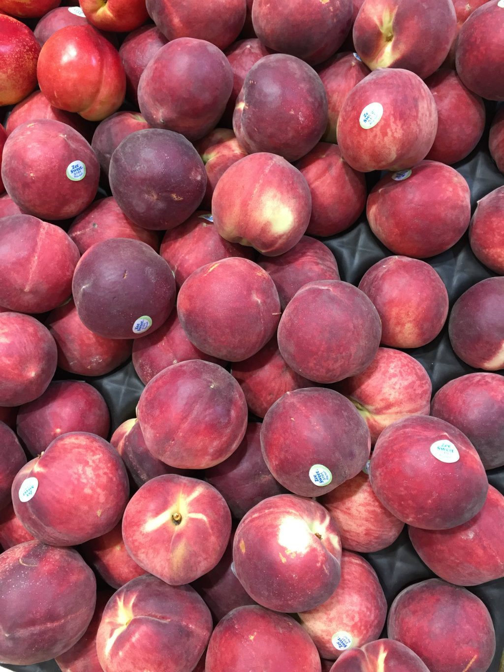 pick of the week - white peaches