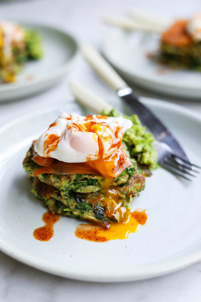 zucchini fritters breakfast recipe