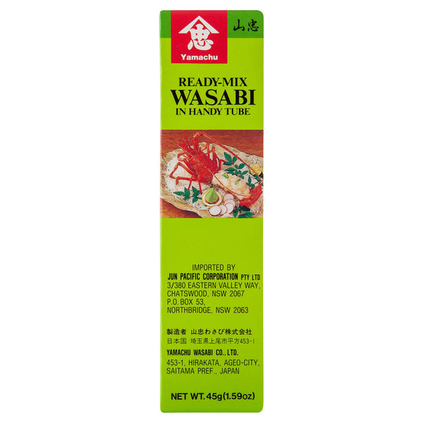 Yamachu Wasabi Paste Tube 45g , Grocery-Asian - HFM, Harris Farm Markets  - 3