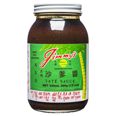 Jimmys Sate Sauce 330ml , Grocery-Asian - HFM, Harris Farm Markets  - 1