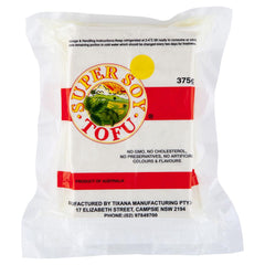 Super Soy Tofu 375g , Frdg3-Asian - HFM, Harris Farm Markets  - 1
