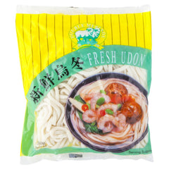 Double Merinos Fresh Udon 500g , Frdg3-Asian - HFM, Harris Farm Markets  - 1