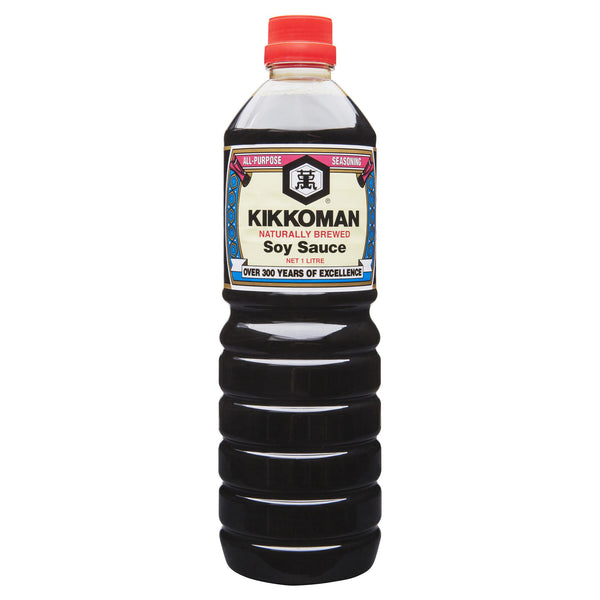 Kikkoman Soy Sauce 1L , Grocery-Asian - HFM, Harris Farm Markets  - 1