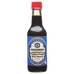 Kikkoman Gluten Free Soy Sauce 250ml , Grocery-Asian - HFM, Harris Farm Markets  - 1