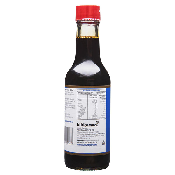 Kikkoman Gluten Free Soy Sauce 250ml , Grocery-Asian - HFM, Harris Farm Markets  - 3