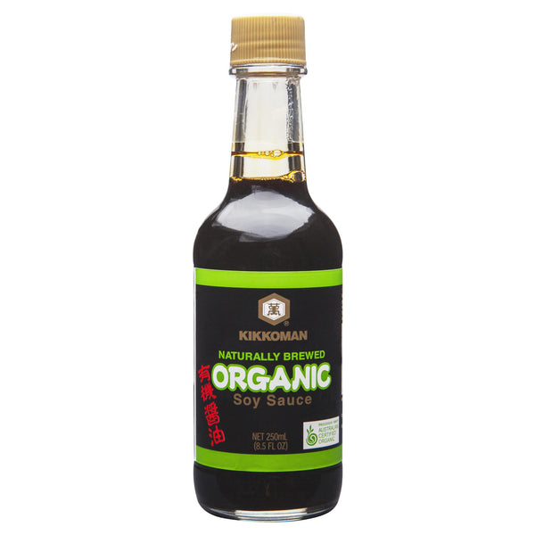 Kikkoman Organic Soy Sauce 250ml , Grocery-Asian - HFM, Harris Farm Markets  - 1