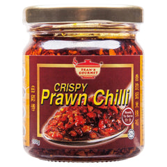 Teans Crispy Prawn Chilli Sauce 170g , Grocery-Asian - HFM, Harris Farm Markets  - 1