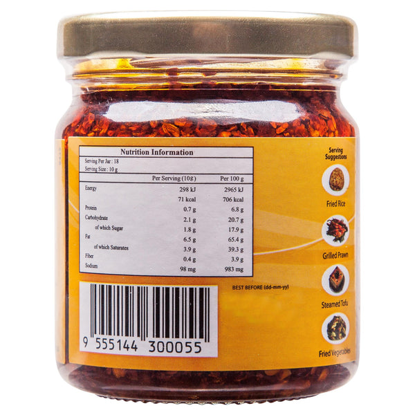 Teans Crispy Prawn Chilli Sauce 170g , Grocery-Asian - HFM, Harris Farm Markets  - 2
