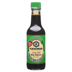 Kikkoman Less Salt Soy Sauce 250ml , Grocery-Asian - HFM, Harris Farm Markets  - 1
