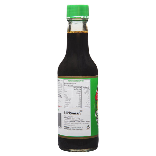 Kikkoman Less Salt Soy Sauce 250ml , Grocery-Asian - HFM, Harris Farm Markets  - 3