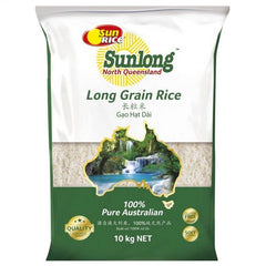 Sunrice - Rice Long Grain (10kg)