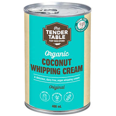 The Tender Table Organic Coconut Whipping Cream | Harris Farm Online