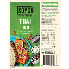 Soyco Thai Spices Tofu | Harris Farm Online