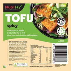 Nutrisoy Spicy Tofu | Harris Farm Online