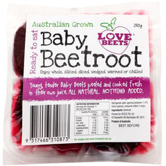 Love Beets - Baby Beetroot - Peeled and Cooked | Harris Farm Online