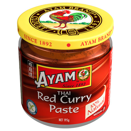Ayam - Thai Red Curry Paste (195g)