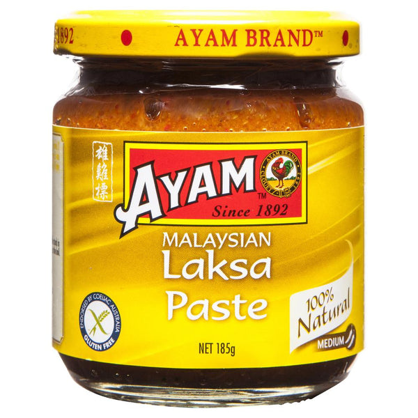 Ayam Laksa Paste 185g , Grocery-Asian - HFM, Harris Farm Markets  - 1