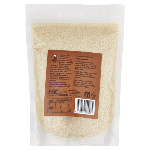 Chefs Choice French Couscous 500g , Grocery-Quinoa/Noodle - HFM, Harris Farm Markets  - 2