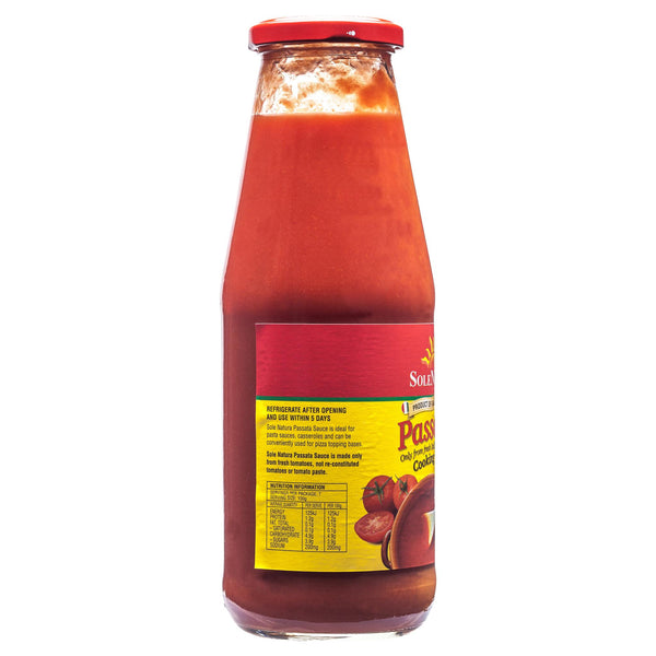 Sole Natura Passata 600g , Grocery-Pasta - HFM, Harris Farm Markets  - 2