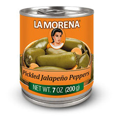La Morena - Pickled Jalapeno Peppers (372g)