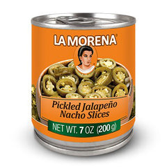 La Morena - Pickled Jalapeno Nacho Sliced (200g)
