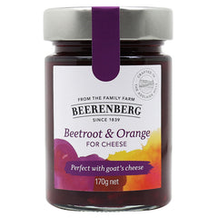 Beerenberg Cheese Condiment Beetroot and Orange 170g