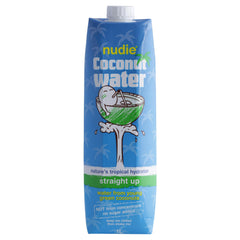 Nudie Coconut Water Straight Up 1L , Frdg1-Drinks - HFM, Harris Farm Markets  - 1