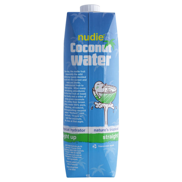 Nudie Coconut Water Straight Up 1L , Frdg1-Drinks - HFM, Harris Farm Markets  - 2